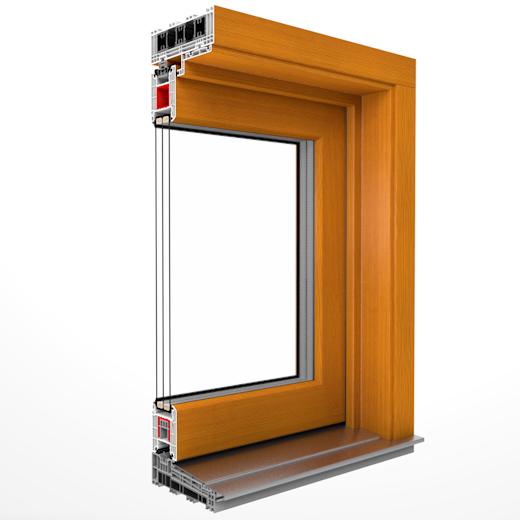 Drutex Drzwi balkonowe uchylno-przesuwne Iglo Energy PSK